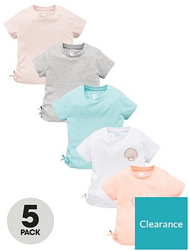 v-by-very-girls-5-pack-shell-tie-t-shirts-multi