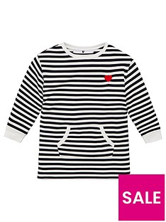 v-by-very-girls-stripe-embroidered-heart-sweat-dress-multi