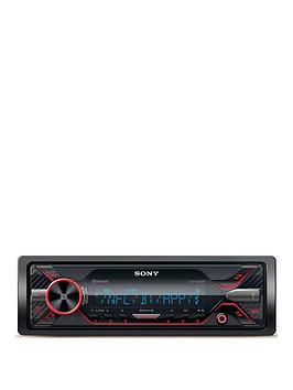 sony-dsx-a416bt-dual-bt-external-mic-red-cd-less