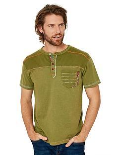 joe-browns-bit-of-twist-henley-t-shirt-khaki