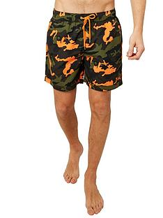 joe-browns-cool-camo-swim-shorts-khaki