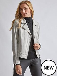 dorothy-perkins-dorothy-perkins-suedette-biker-jacket