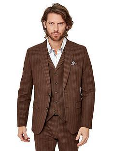 joe-browns-sensational-stripe-blazer-chestnut