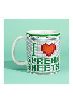 i-love-spread-sheets-mug