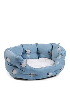 zoon-counting-sheep-oval-bed-pet-medium
