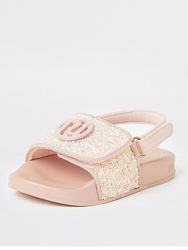 river-island-mini-girls-glitter-sliders-pink