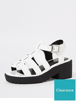 river-island-girls-clumpy-caged-sandals-white