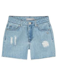 mintie-by-mint-velvet-girls-distressed-denim-shorts-blue