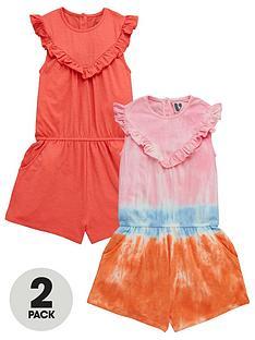 v-by-very-girls-dip-dye-2-pack-playsuits-multi