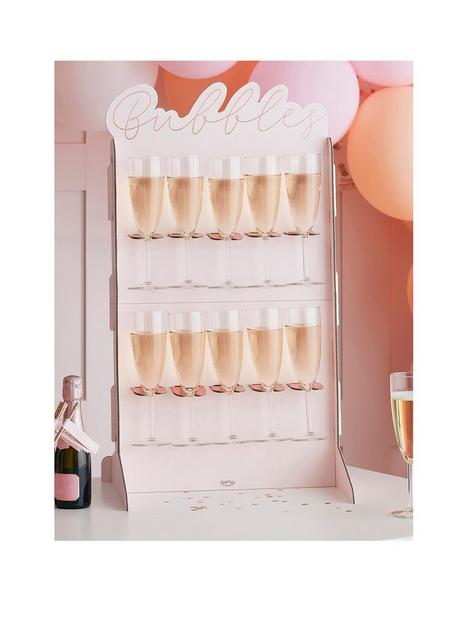 ginger-ray-rose-gold-and-blush-birthday-prosecco-wall