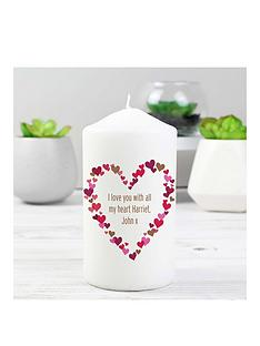 personalised-confetti-heart-print-candle