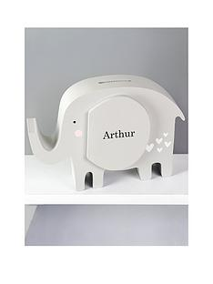personalised-elephant-money-box