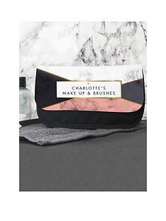 personalised-geometric-marble-make-up-bag