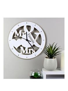 personalised-mr-mrs-clock