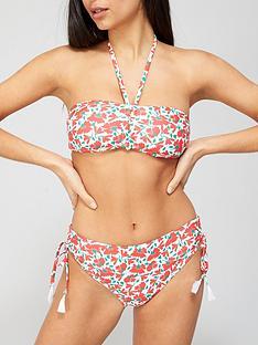 v-by-very-tassel-detail-halter-neck-bikini-top-red-print