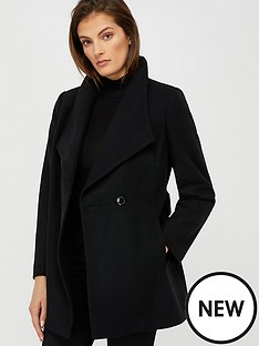 monsoon-rita-wrap-collar-coat-short