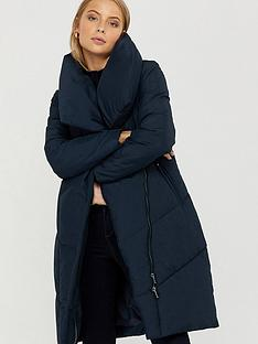 monsoon-dhalia-long-duvet-coat-navy