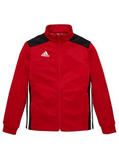 adidas-youth-regista-tracksuit-top-red
