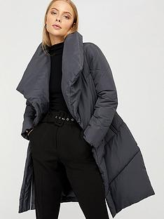 monsoon-dhalia-long-duvet-coat-grey