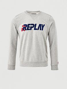 replay-flocking-logo-sweatshirt