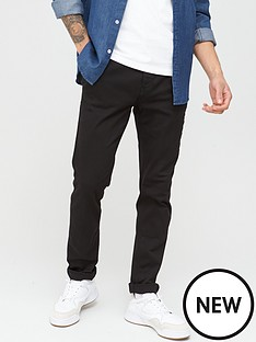 replay-hyperflex-zeumar-slim-fit-chinos-black