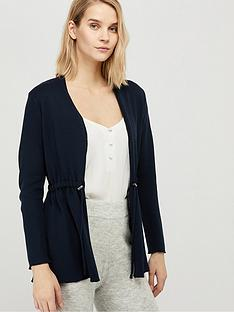 monsoon-erica-drawstring-cardigan-navy