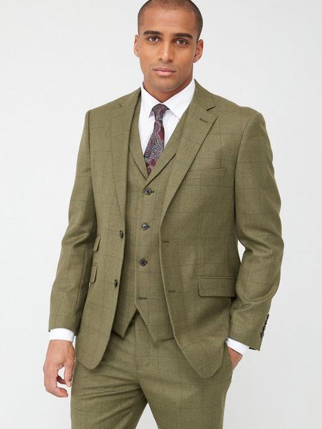 skopes-tailored-moonen-jacket-olive-check