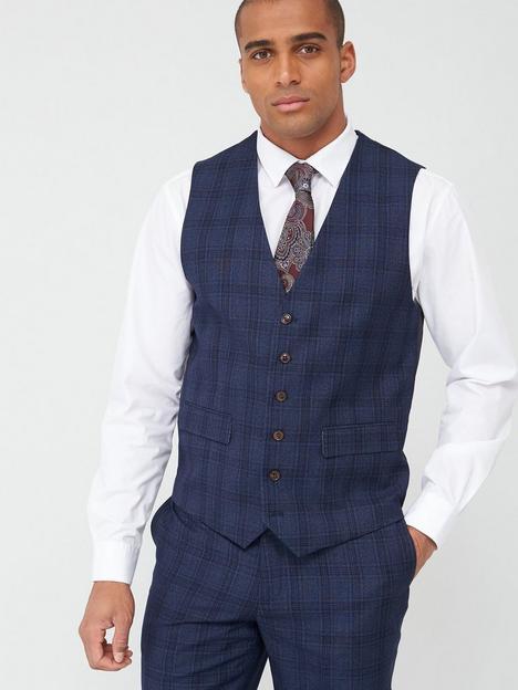 skopes-standard-minworth-waistcoat-blue-check