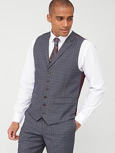 skopes-standard-witton-waistcoat-greyblue-check
