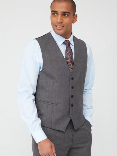skopes-standard-pietro-waistcoat-grey-textured-weave