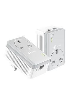 tp-link-av600-2-port-100mbps-passthrough-powerline-starter-kit