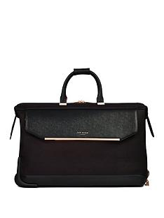 ted-baker-albany-large-trolley-duffle-black