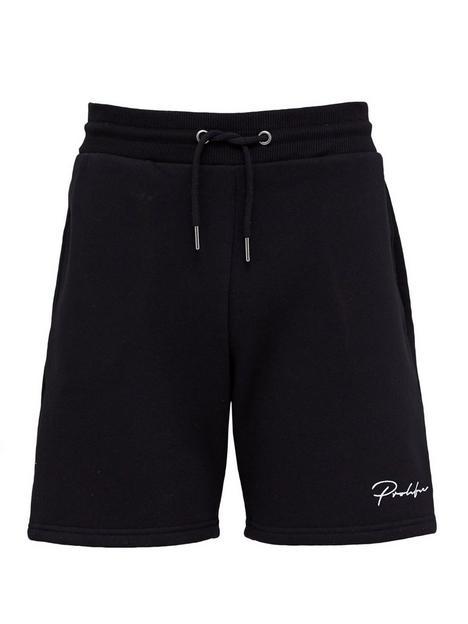 river-island-prolific-black-slim-fit-shorts