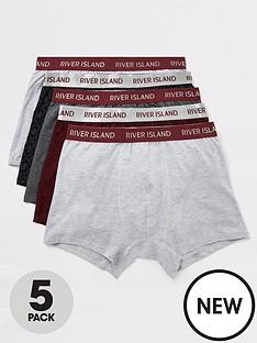river-island-monogram-logo-5-pack-trunks