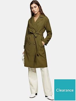 topshop-sofia-trench-coat-khaki