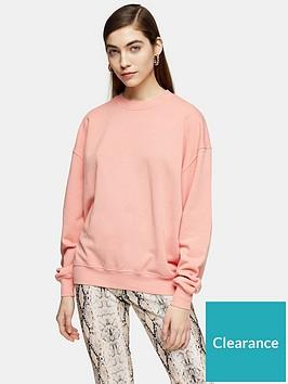 topshop-stonewash-sweatshirt-dusky-pink