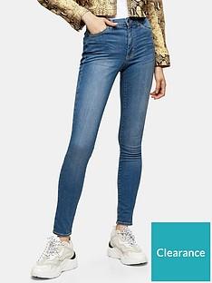 topshop-leigh-skinny-jeansnbsp--blue