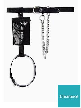 topshop-vinyl-belt-with-pouchnbsp-black