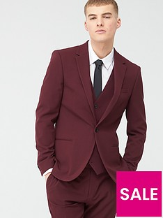 river-island-stretch-skinny-suit-jacket-dark-red
