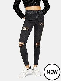topshop-super-ripped-jamie-jeans-washed-black