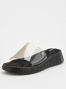 dkny-mezz-clear-logo-slides-black