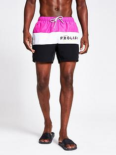 river-island-prolific-logo-swim-shorts-pink