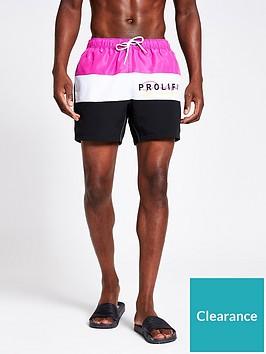 river-island-prolific-logo-swim-shorts-pink