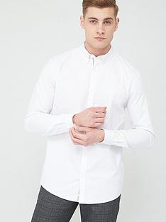 river-island-maison-riviera-white-long-sleeve-shirt