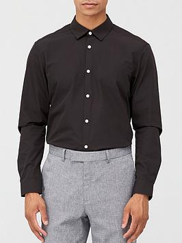 very-man-long-sleeved-easycare-shirt-black