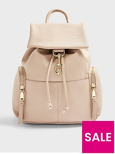 topshop-dog-clip-backpack-stone