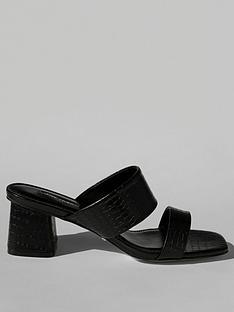 topshop-dina-block-heel-mules-black