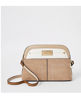 river-island-pocket-front-cross-body-bag-beige