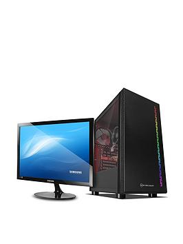 pc-specialist-fusion-s-pcs-d1615229-amd-athlon-3000g-8gb-ram-1tb-hard-drive-amp-128gb-ssd-gaming-desktop-black