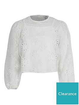 river-island-girls-emboidered-long-sleevenbsptop-white